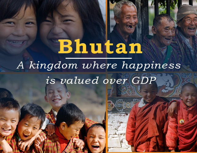 Bhutan – a kingdom where happiness is valued over GDP
