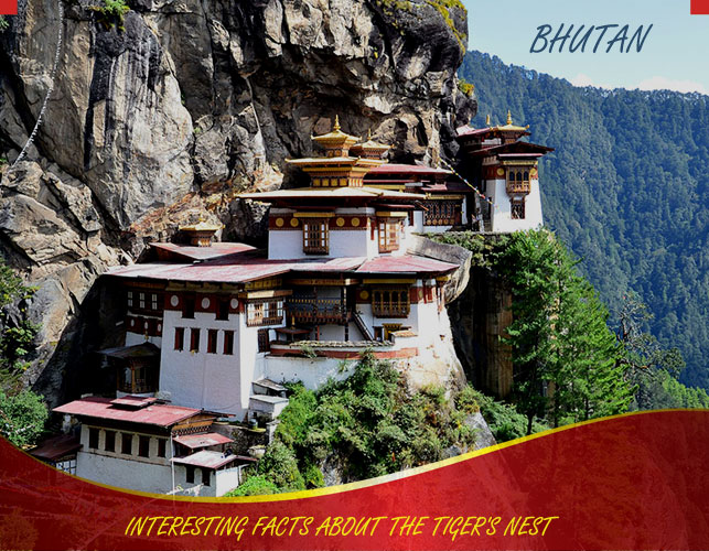 Some Interesting Facts About The Tiger's Nest (Palphug Taktsang Monastery)