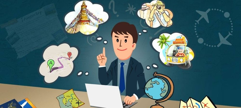 Travel agent's services